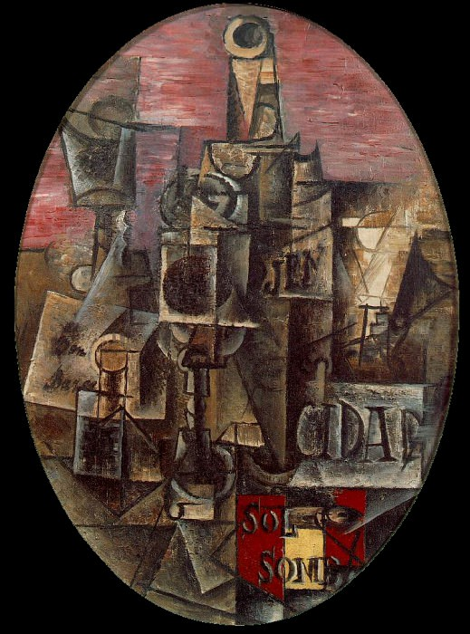 1912 Nature morte espagnole. Pablo Picasso (1881-1973) Period of creation: 1908-1918