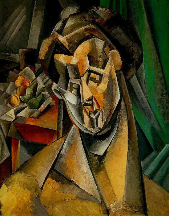1909 Femme aux poires (Fernande). Pablo Picasso (1881-1973) Period of creation: 1908-1918