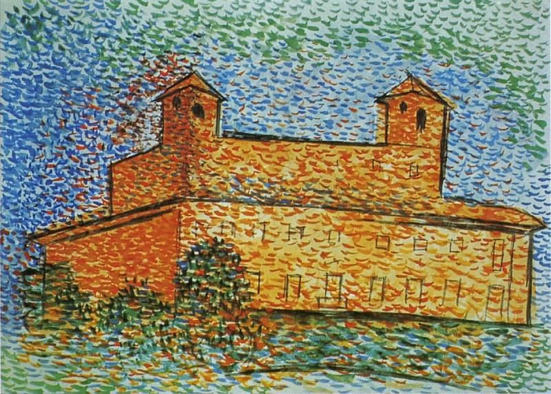 1917 Villa Medici. Pablo Picasso (1881-1973) Period of creation: 1908-1918