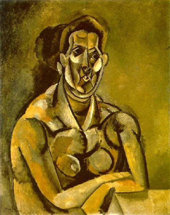 1909 Buste de femme (Fernande). Pablo Picasso (1881-1973) Period of creation: 1908-1918