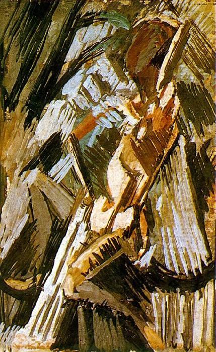 1908 Baigneuse. Pablo Picasso (1881-1973) Period of creation: 1908-1918