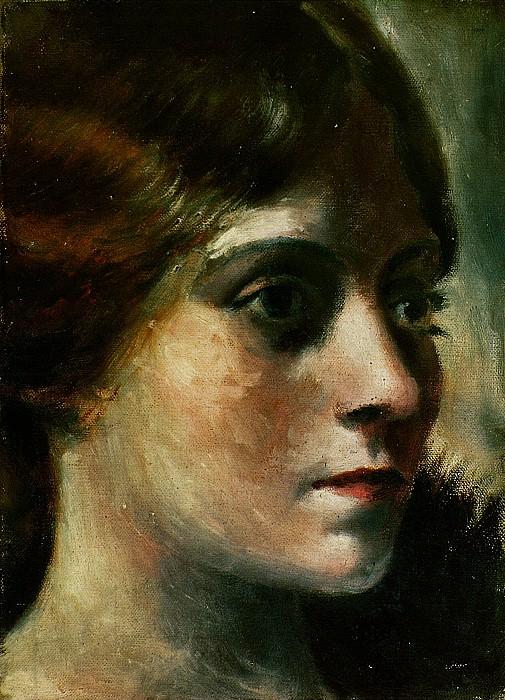 1917 Portrait dOlga1. Pablo Picasso (1881-1973) Period of creation: 1908-1918