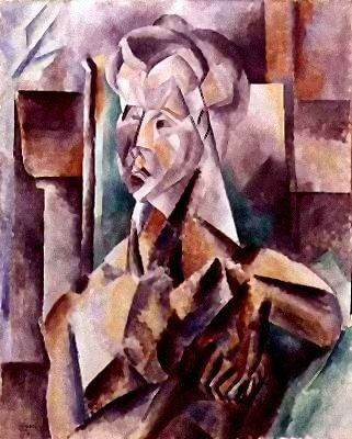 1909 Femme assise2. Pablo Picasso (1881-1973) Period of creation: 1908-1918