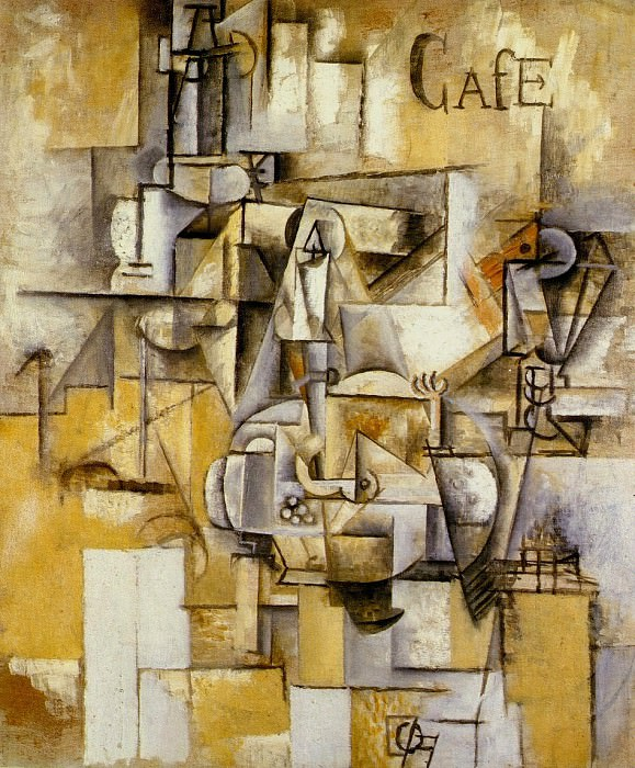 1912 Le pigeon aux petits pois. Pablo Picasso (1881-1973) Period of creation: 1908-1918