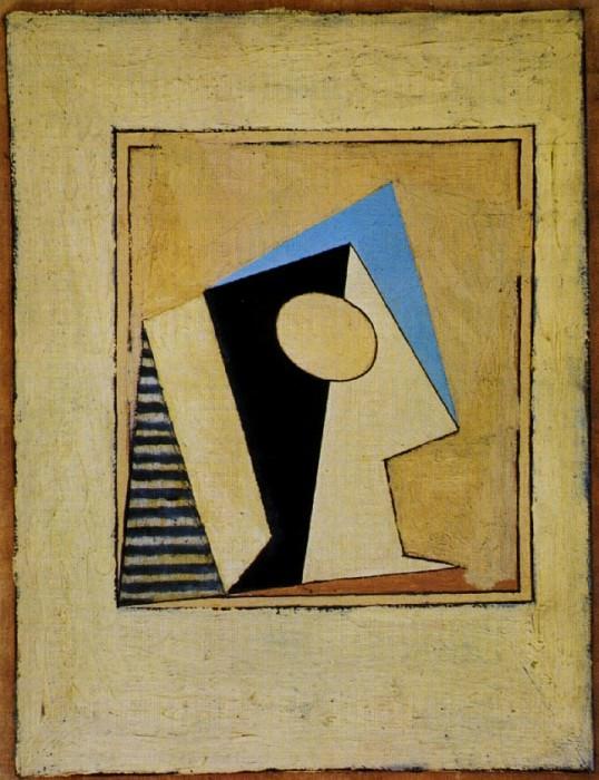 1918 Verre. Pablo Picasso (1881-1973) Period of creation: 1908-1918