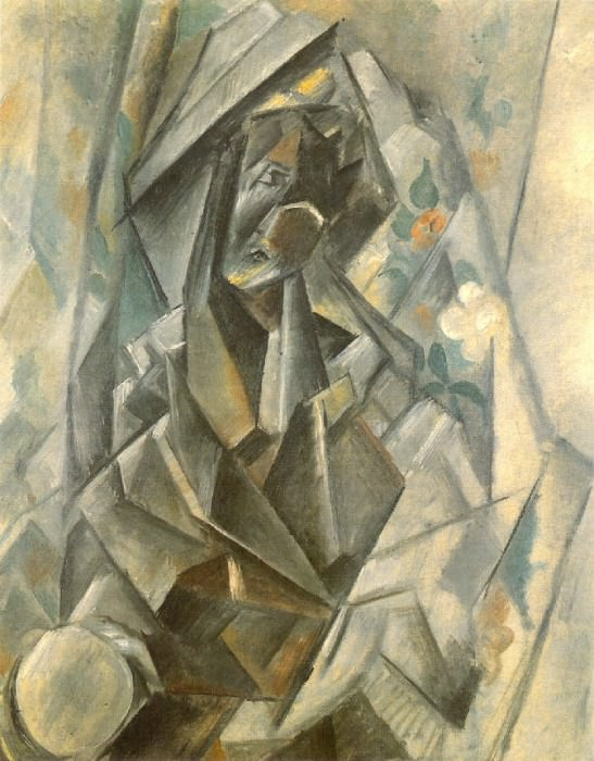 1909 Madonne. Pablo Picasso (1881-1973) Period of creation: 1908-1918