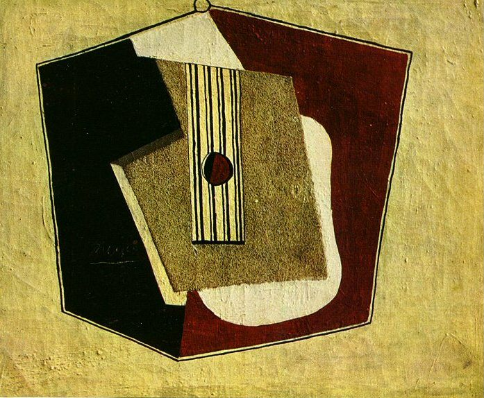 1918 La guitare. Pablo Picasso (1881-1973) Period of creation: 1908-1918