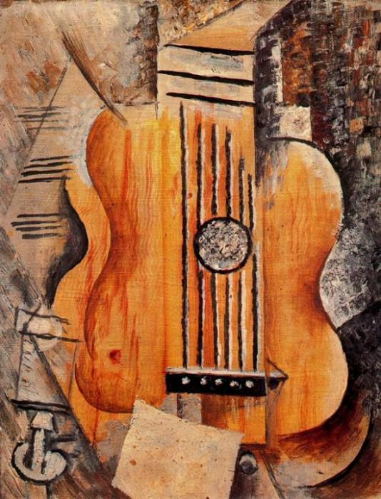 1912 Guitare Jaime Eva. Pablo Picasso (1881-1973) Period of creation: 1908-1918