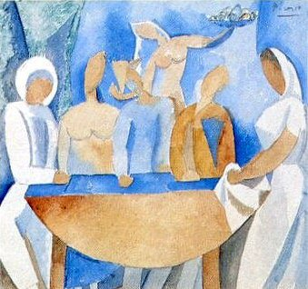 1908 Carnaval au bistrot. Pablo Picasso (1881-1973) Period of creation: 1908-1918 (Рtude)