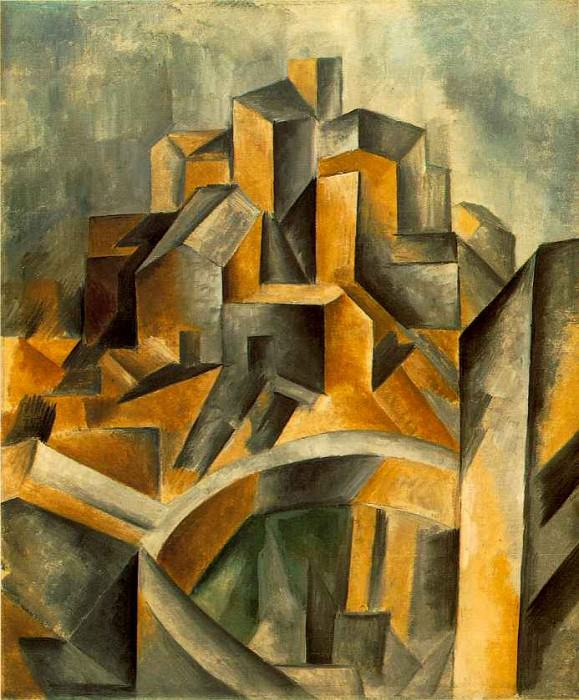 1909 Le rВservoir (Horta dEbre). Pablo Picasso (1881-1973) Period of creation: 1908-1918