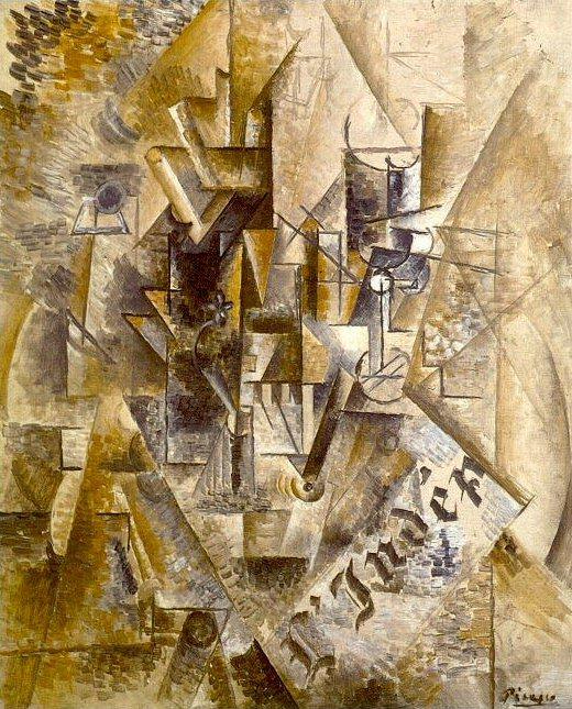 1911 LВventail ( LIndВpendant ). Pablo Picasso (1881-1973) Period of creation: 1908-1918
