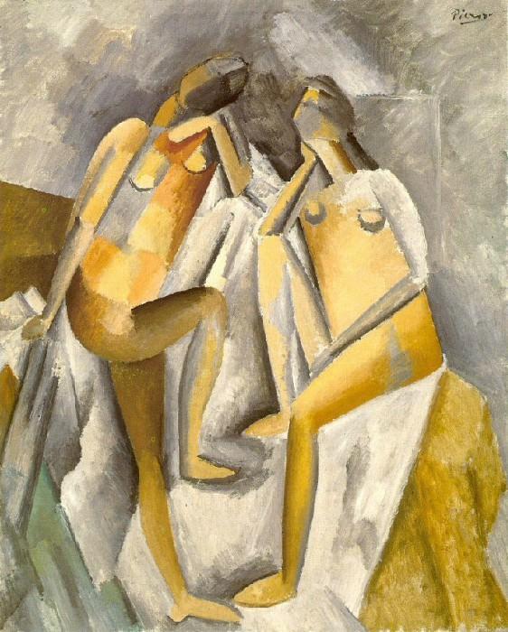 1909 Deux femmes nues. Pablo Picasso (1881-1973) Period of creation: 1908-1918