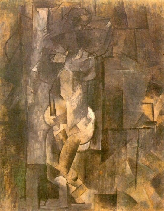 1910 Femme nue1. Pablo Picasso (1881-1973) Period of creation: 1908-1918