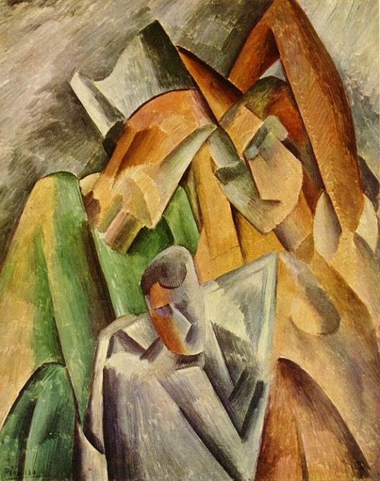 1909 Famille dArlequin. Pablo Picasso (1881-1973) Period of creation: 1908-1918