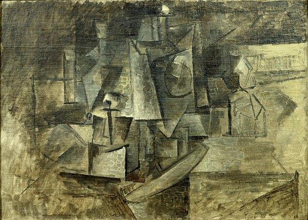 1911 La coiffeuse. Pablo Picasso (1881-1973) Period of creation: 1908-1918