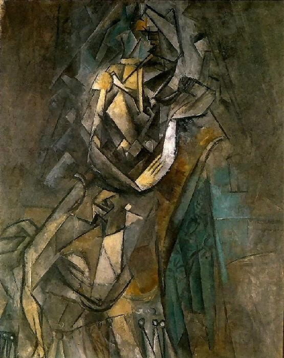 1909 Femme assise dans un fauteuil. Pablo Picasso (1881-1973) Period of creation: 1908-1918