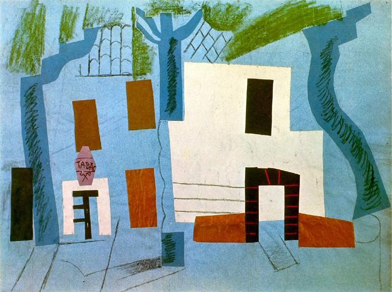 1913 Paysage de CВret. Пабло Пикассо (1881-1973) Период: 1908-1918