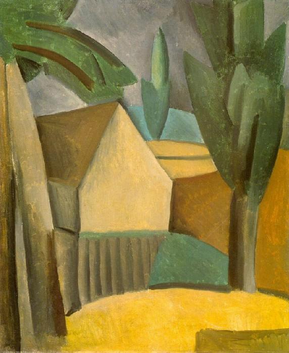 1908 Maison dans le jardin. Pablo Picasso (1881-1973) Period of creation: 1908-1918
