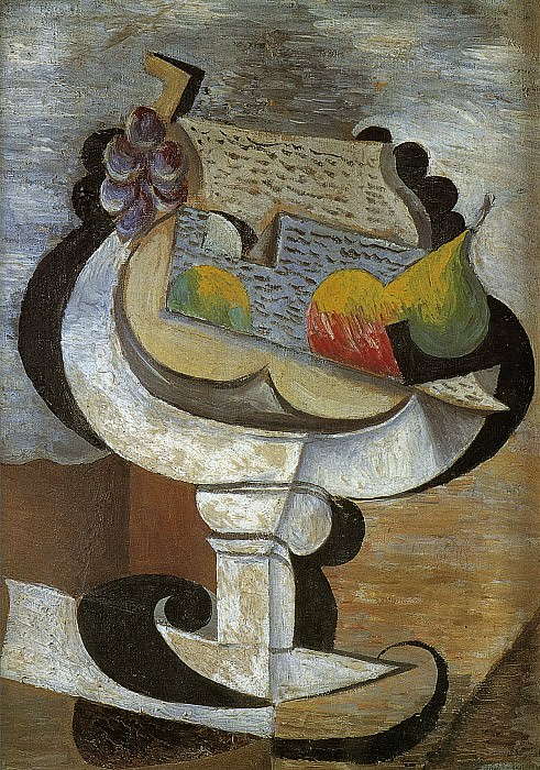 1917 Compotier. Pablo Picasso (1881-1973) Period of creation: 1908-1918