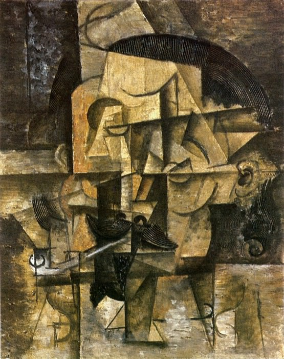1912 Le poКte. Pablo Picasso (1881-1973) Period of creation: 1908-1918
