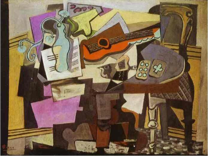 1918 Nature morte. Pablo Picasso (1881-1973) Period of creation: 1908-1918