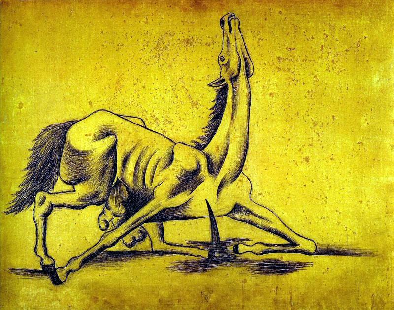 1917 Cheval ВventrВ. Pablo Picasso (1881-1973) Period of creation: 1908-1918