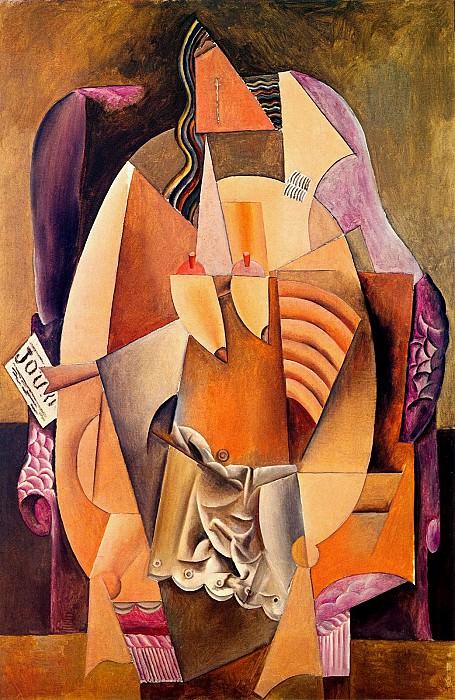 1913 Femme en chemise assise dans un fauteuil. Pablo Picasso (1881-1973) Period of creation: 1908-1918