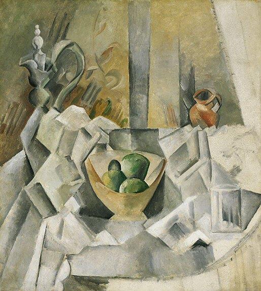 1909 Carafon, pot et compotier. Pablo Picasso (1881-1973) Period of creation: 1908-1918