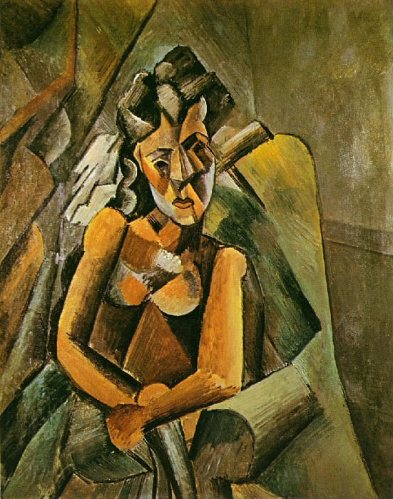 1909 Femme assise. Pablo Picasso (1881-1973) Period of creation: 1908-1918