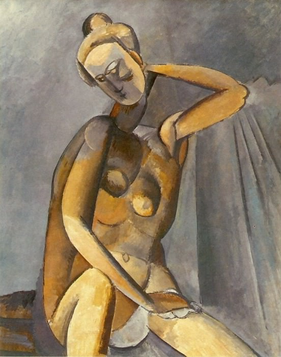 1909 Femme nue assise. Pablo Picasso (1881-1973) Period of creation: 1908-1918