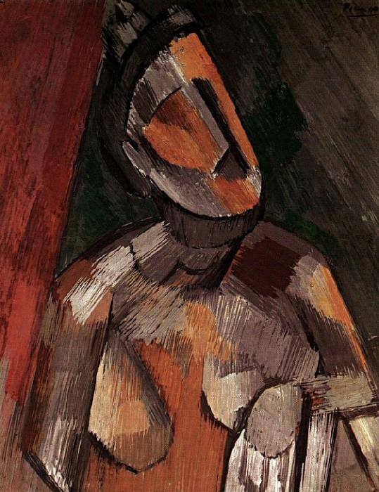 1909 Buste de femme. Pablo Picasso (1881-1973) Period of creation: 1908-1918