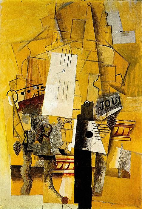 1914 Le guВridon. Pablo Picasso (1881-1973) Period of creation: 1908-1918