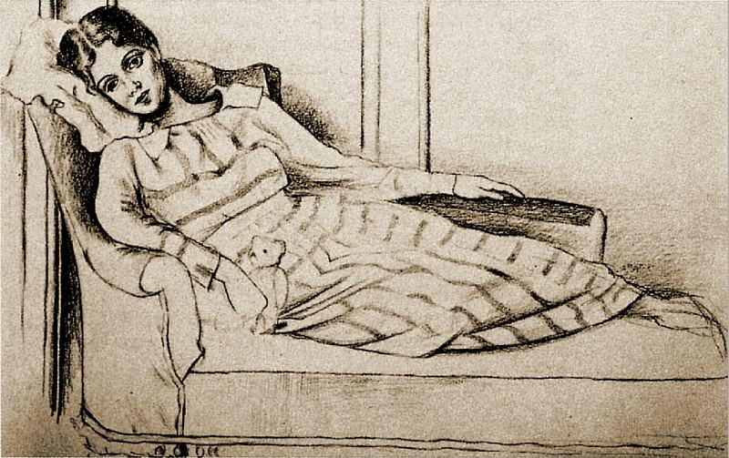 1917 Olga Kokhlova. Pablo Picasso (1881-1973) Period of creation: 1908-1918