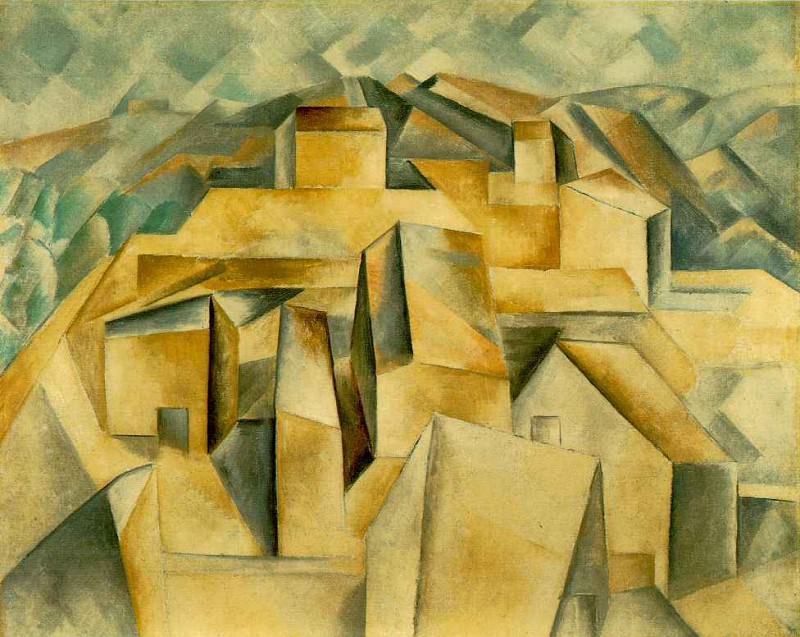 1909 Maisons sur la colline (Horta de Ebro). Pablo Picasso (1881-1973) Period of creation: 1908-1918