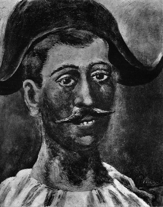 1917 Arlequin au bicorne. Pablo Picasso (1881-1973) Period of creation: 1908-1918