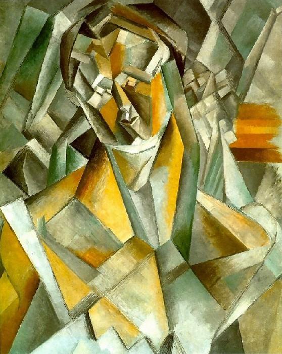 1909 Femme assise1. Пабло Пикассо (1881-1973) Период: 1908-1918
