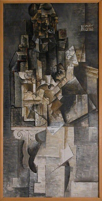 1911 Homme Е la guitare. Pablo Picasso (1881-1973) Period of creation: 1908-1918