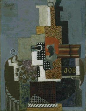 1916 Nature morte job. Pablo Picasso (1881-1973) Period of creation: 1908-1918