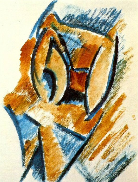 1908 Buste de femme. Pablo Picasso (1881-1973) Period of creation: 1908-1918