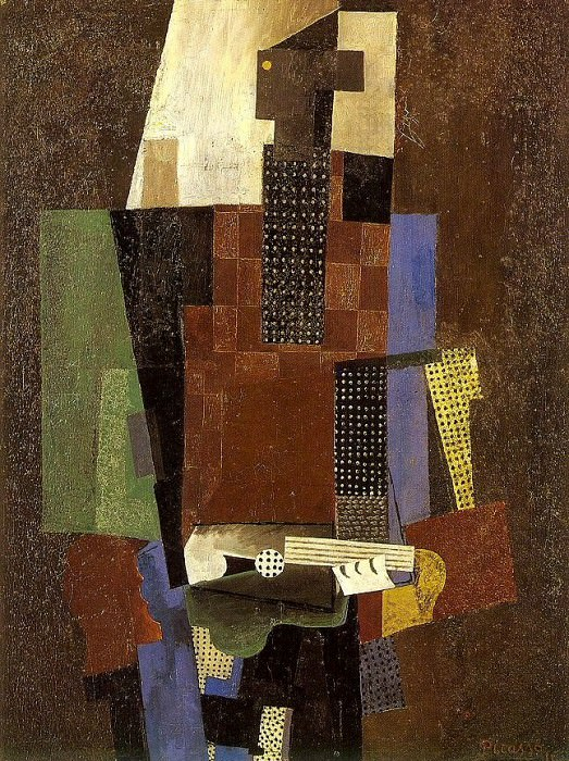 1916 Guitariste. Pablo Picasso (1881-1973) Period of creation: 1908-1918