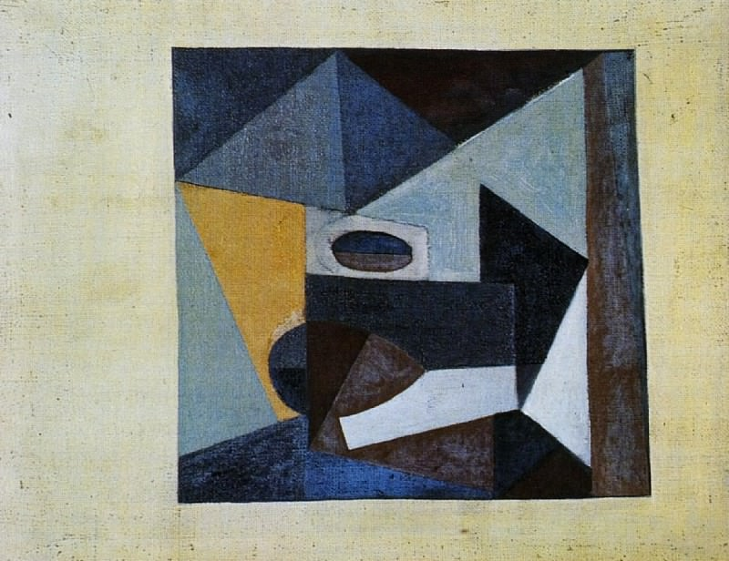1918 Nature morte. Pablo Picasso (1881-1973) Period of creation: 1908-1918
