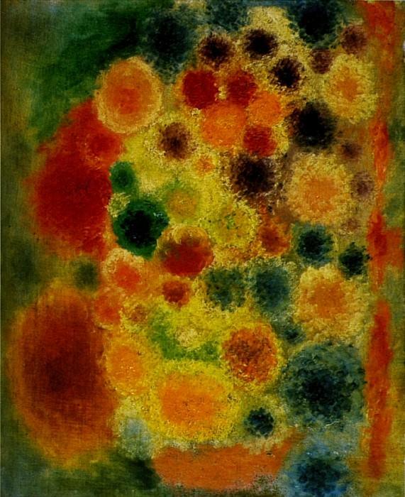 1917 Vase de fleurs. Pablo Picasso (1881-1973) Period of creation: 1908-1918