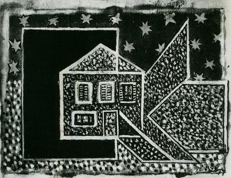 1917 NoЙl, la neige. Пабло Пикассо (1881-1973) Период: 1908-1918