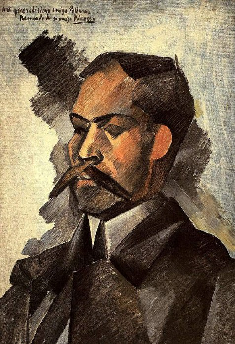 1909 Portait de Manuel PollarВs. JPG. Pablo Picasso (1881-1973) Period of creation: 1908-1918