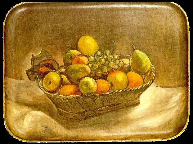 1918 Corbeille de fruits. Pablo Picasso (1881-1973) Period of creation: 1908-1918