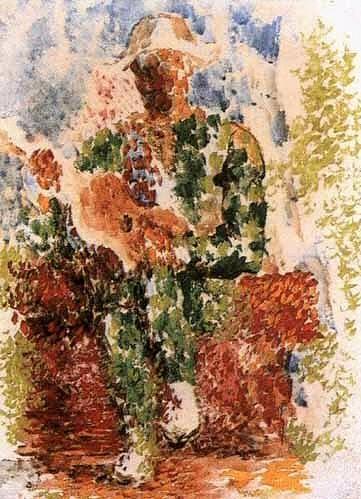 1916 Arlequin Е la guitare1. Pablo Picasso (1881-1973) Period of creation: 1908-1918