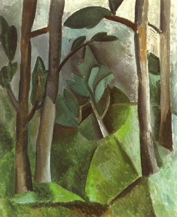 1908 Paysage4. Pablo Picasso (1881-1973) Period of creation: 1908-1918
