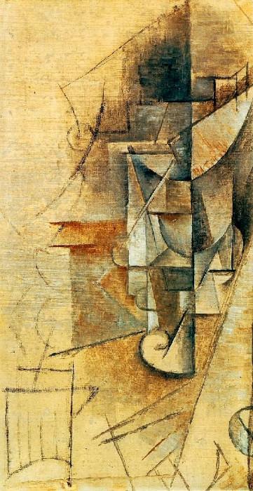 1911 Le verre. Пабло Пикассо (1881-1973) Период: 1908-1918