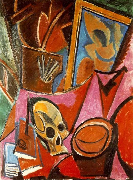 1908 Composition avec tИte de mort. Пабло Пикассо (1881-1973) Период: 1908-1918