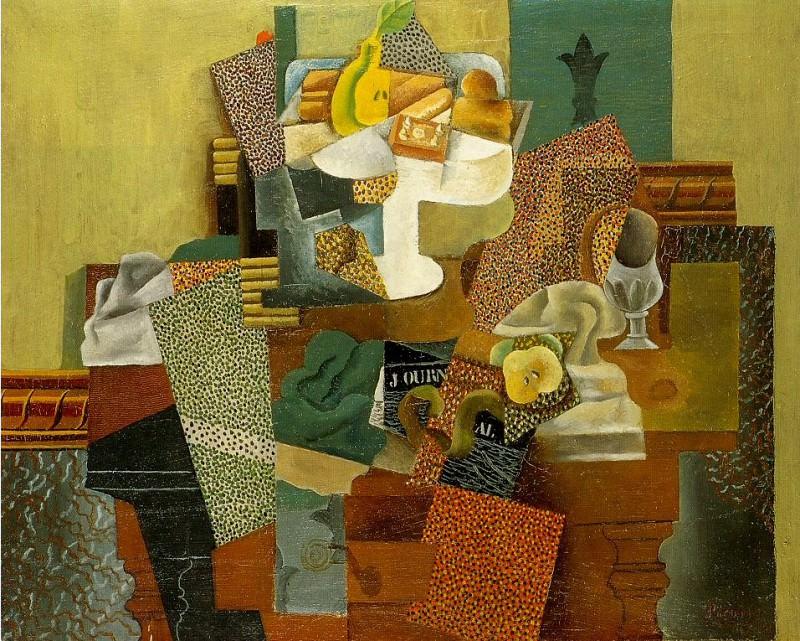 1914 Nature morte aux fleurs de lis. Pablo Picasso (1881-1973) Period of creation: 1908-1918